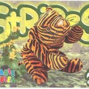 TY Beanie Babies Collection Stripes the Tiger
